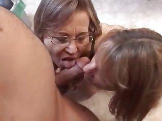 mom and girl and boy