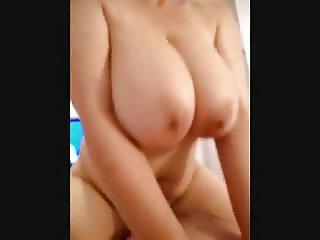 Big tits cowgirl