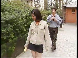 Korean student fucks western dicks -1