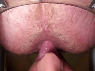 Rimming a Hairy Hole