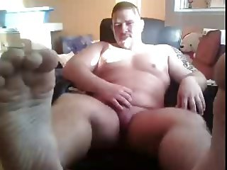 chatroulette male feet - pies masculinos - straight bear
