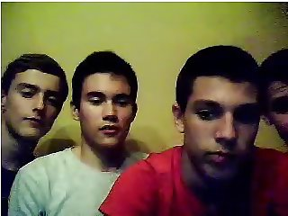Straight guys feet on webcam #35