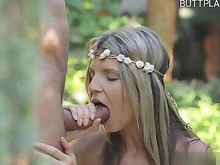 Horny pussy oral cumshot