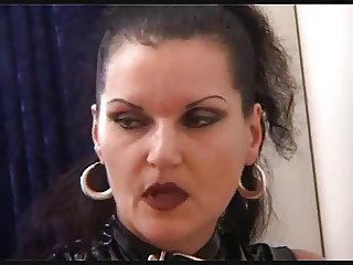 German mistress fisting her chubby girlfriend