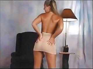 Christina Model White dress