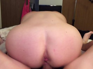 Reverse Cowgirl with the Wife