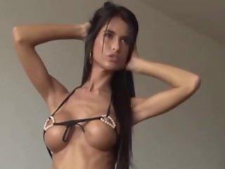 Nessa Photoshooting for Pearl Bikini by Troc