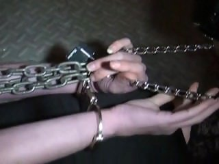 Milf chained in basement