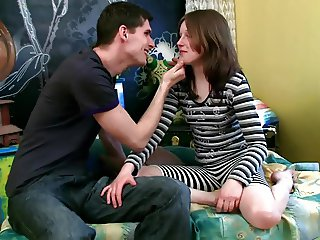 Young Small Tits Hardcore Innocent brunette Angela