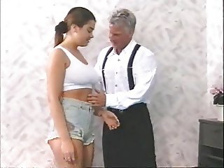 young Schulerin fucked by old man