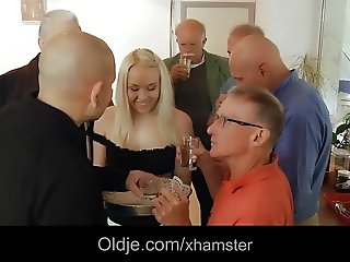 Sexy Hot Teen Hardcore Gangbang Fuck In Old And Young