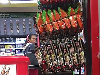 cock out at convenience store