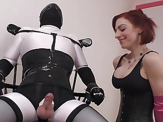 Small cock tease and denial