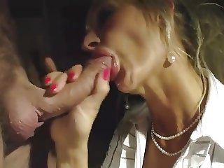 Cock Sucking Blond Goddes