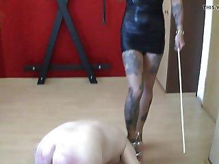 Serving his mistress