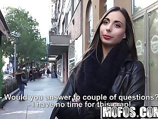 Mofos - Public Pick Ups - Euro Chick Sucks Dick in Elevator