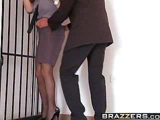Brazzers - Big Tits In Uniform - Going Down scene starring R