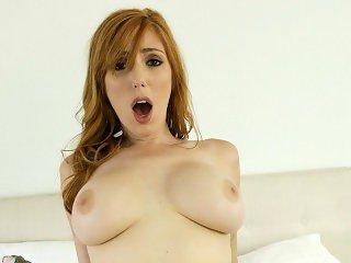 NF Busty - Hot Ginger Lauren Phillips Fucks Roommate S3:E7