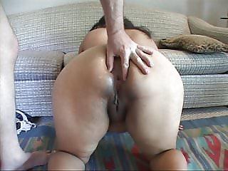 Short Big Butt Mexican Mom Got Butt Fucked