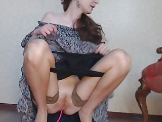 Sexy girl upskirt and dirty panties fetish