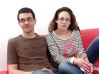 Fabiola is drilled by Martin's big cock while her husband wa