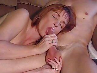 Mature suck and cum