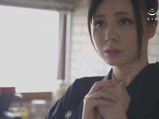 Aimi Yoshikawa HBAD-392 Big Tits Widow Exposed To The Neck And Silent Ascen