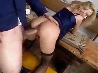 Naughty Amateur Blonde Enjoying Very Big Cock In Virgin Ass