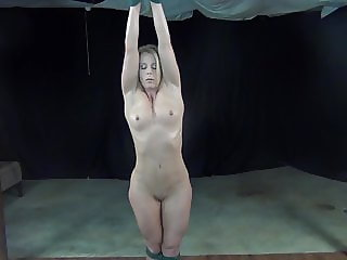 Naked Fit MILF Strung Up