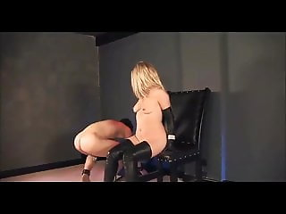 MISTRESS SIDONIA BORK-IN LEATHER TEASES SLAVE