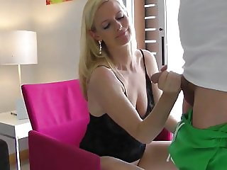 Hot MILF Having Fun with Young Guy On Vacation