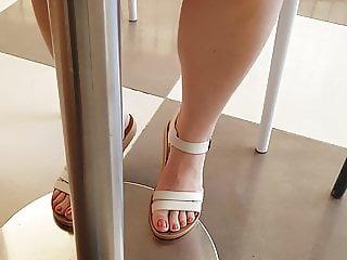 Turkish wife feet legs turk ayak bacak karim flashing