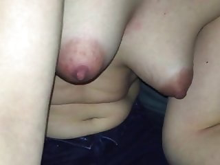 puffy nipples jerking