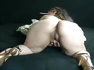 Vintage mature BBW smoking and fucking
