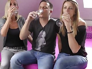 lucky guy can't say no to mature milf and his new girlfriend