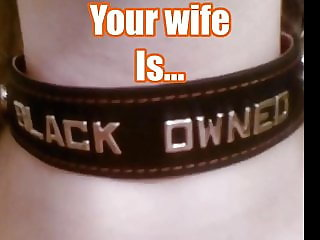 Suburban white wife and her black master