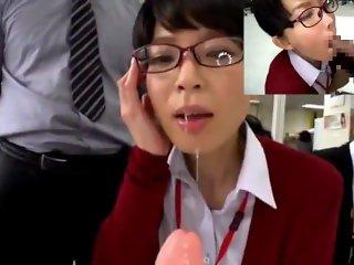 japanese deepthroat office edit