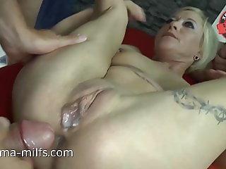 Anal Cum Orgy For Sperma-Milf Klara