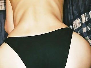 Cum on her panties