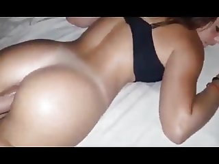 Naughty Babe Woke Up When She Felt My Big Cock In The Ass