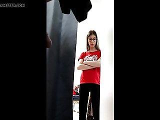 Teen Shocked Dressing Room Flash!