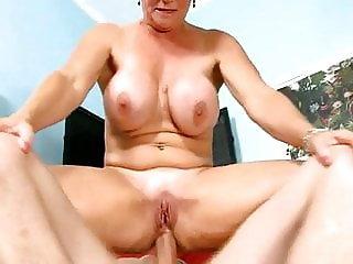 Horny Granny Anal