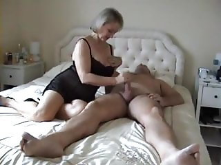 British milf and her toyboy lover have afternoon sex
