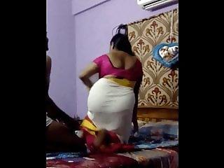 BBW Busty boobs & ass aunty Romance & fucking video