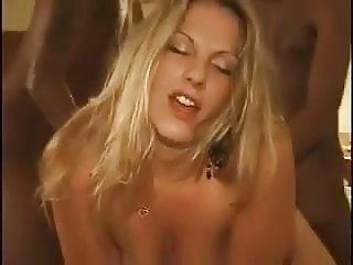 Hot wife in gang bang