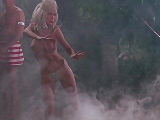The Golden Goddess- vintage 60's nude dance