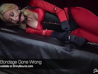 Self Bondage Gone Wrong