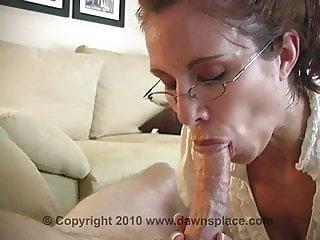 Allison hot mature blowjob and cum swallow
