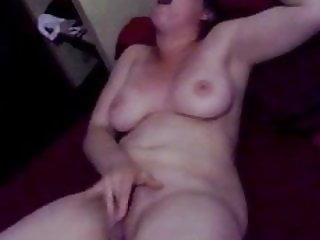 Caught wife masturbating