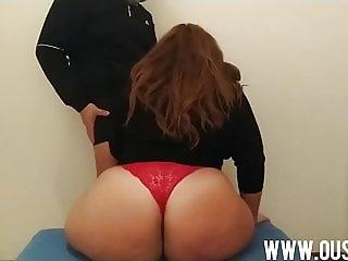 Son fucks his mother's huge ass
